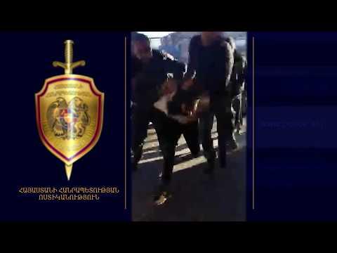 Տեսանյութ.  Ոստիկանը կիրառել է ձեռնամարտի հնարքներ. մանրամասներ Տաշիրում բանկի վրա կատարած հարձակումից