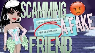 SCAMMING A FAKE FRIEND! + MAILTIME ON RARE ACC! -MSP