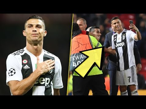Cristiano Ronaldo Returns To Old Trafford 2018 | Crazy Atmosphere & Fans | Manchester 0-1 Juventus
