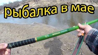 Рыбалка на реке на поплавок в мае 2021 голавли плотва и другие