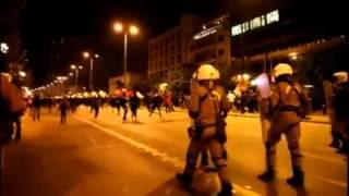 17 ноября 2014. Кто кого спровоцировал. Полиция или анархисты?