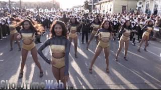 "Alabama State Stingettes ""Ex Factor"" - 2017 Mardi Gras Parade"