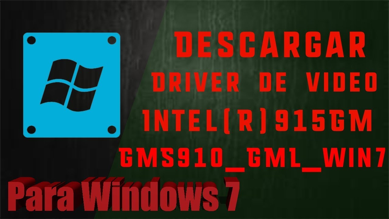 DRIVER: INTEL R 915GM 910ML 915MS GRAPHICS CHIP