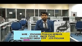 Vrushabh Hembade's Live Review of DTPP program...
