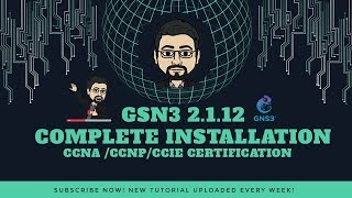 Complete Gns3 2.1.12 Installation and configuring with cisco IOU and IOS