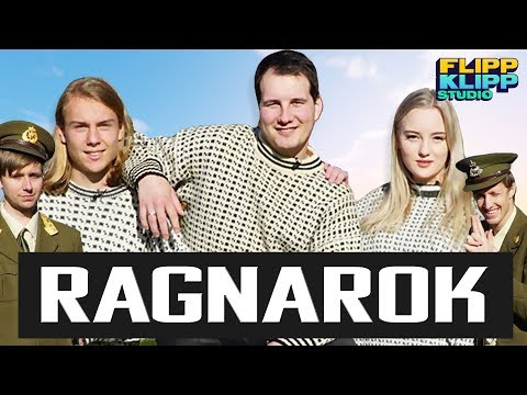 """FINALE-LAGET Ruben, Helena Werp og Emil """"emwaAdventure""""   RAGNAROK – NORDISK LANDSKAMP"""