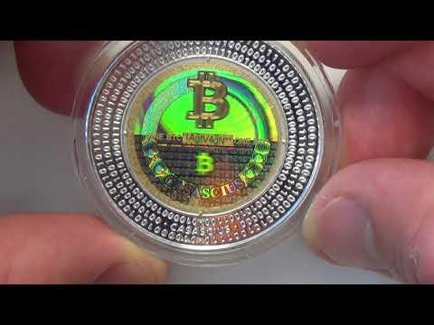 Casascius Bitcoin | 2013 Casascius Silver Bitcoin | 1 Of 1,300
