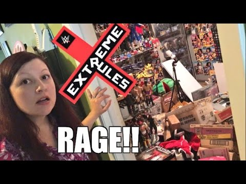 HEEL WIFE EXTREME RULES RAGE WRECKED TOY...