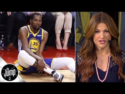 Kevin Durant tore his Achilles, and the whole NBA changed - Rachel Nichols | The Jump