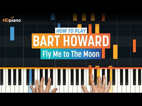 "How To Play ""Fly Me To The Moon"" By Bart Howard (Frank Sinatra) 