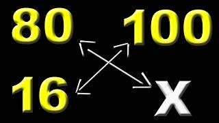 Como-Aprender calcular porcentagem utilizando regra de três thumbnail