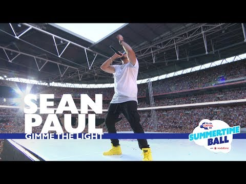 Sean Paul - 'Gimme The Light'  (Live At Capital's Summertime Ball 2017)