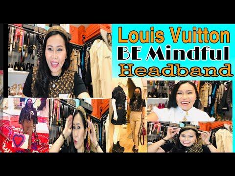 #louisvuitton #bemindfulheadband  Louis Vuitton BE MINDFUL HEADBAND UNBOXING part 2,