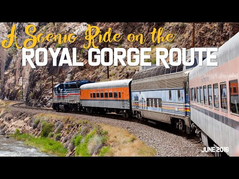 Our Colorado Vacation: Riding the Royal Gorge Route