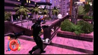 DLC「タクティカルソルジャーパック」で追加される服装と銃を使用してい...