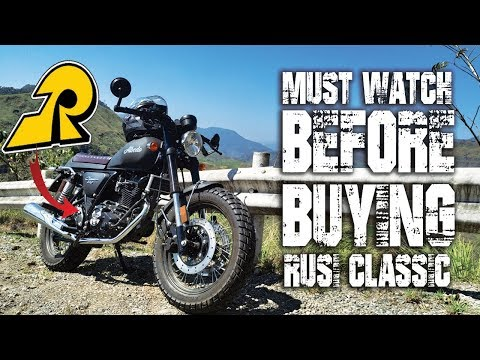Rusi Classic 250 (Must watch before Buying)
