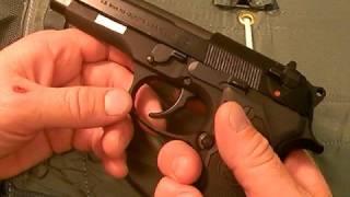 Beretta M9/Model 92 pistol:  Gargantuan 9mm, Part 3