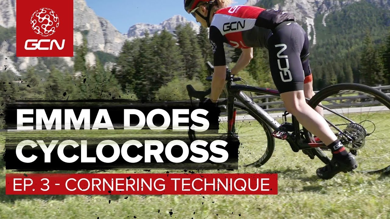 How To Corner On A Cyclocross Bike | Emma Does Cyclo-Cross Episode 3