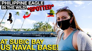 US Navy Base Size of SINGAPORE in SUBIC BAY! (Spotted Philippine Eagle HERE)