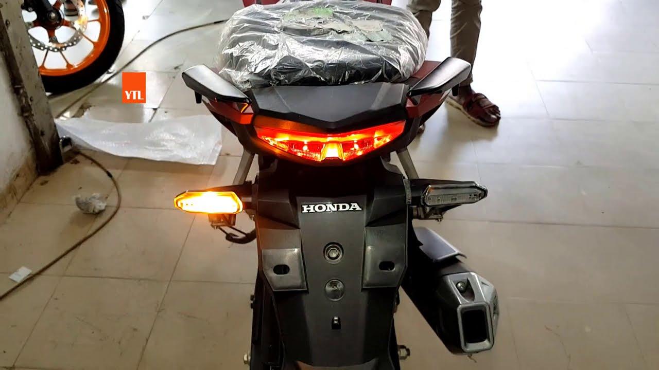 New Honda 150CC - Latest Bike - Fast Streetfire Matte Red Fast Racer 2020