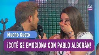 ¡María José Quintanilla se emociona con Pablo Alborán! -...