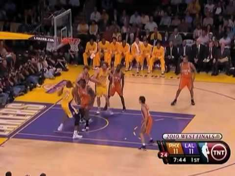 2010 NBA Playoffs: Jason Richardson & Amare Stoudemire Give Game Away - Suns at Lakers Game 2