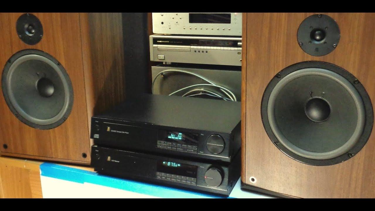 Acoustic Research CD-06 SE + Acoustic Research X-07 ...