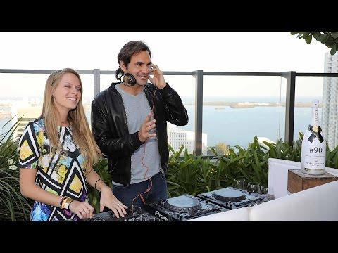 Moët Moment: Roger Federer's Miami Break