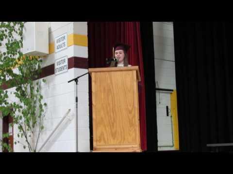2017 Barron High School Commencement Speech