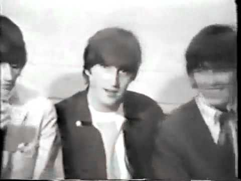 Funny Beatles interview Texas 1964