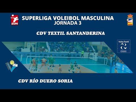 SVM1819 - Jornada 3 - Voley Textil vs CDV Río Duero Soria