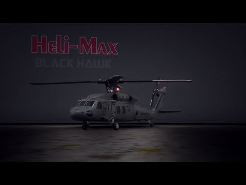 Spotlight: Heli-Max BLACK HAWK 1/43 Scale Brushless Aerobatic Helicopter