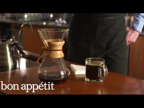 Bon Appétit/Stumptown Coffee Brew Guides: Chemex