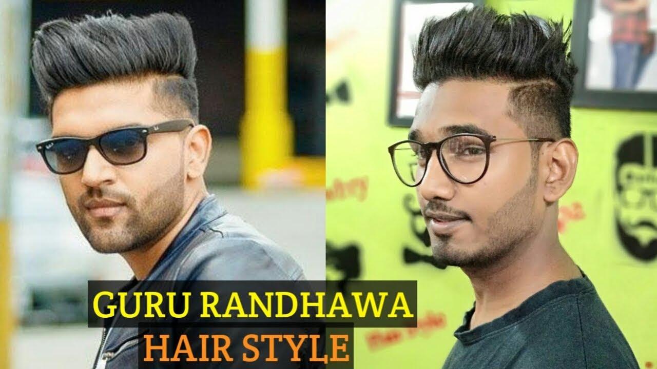 Guru Randhawa Hair Style