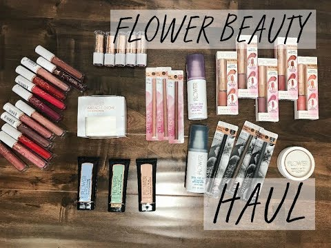 Download Youtube: FLOWER BEAUTY Try-On HAUL | New Stuff!