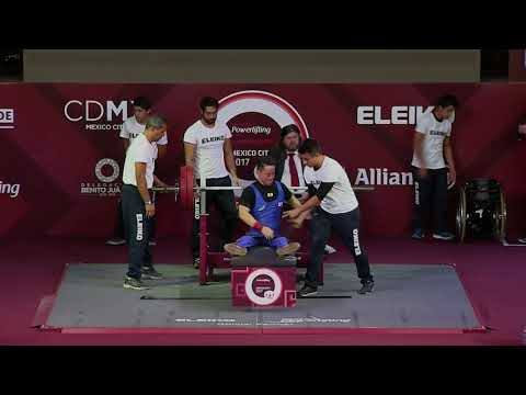 Men's Up to 54kg | Mexico City 2017 World Para Powerlifting Championships