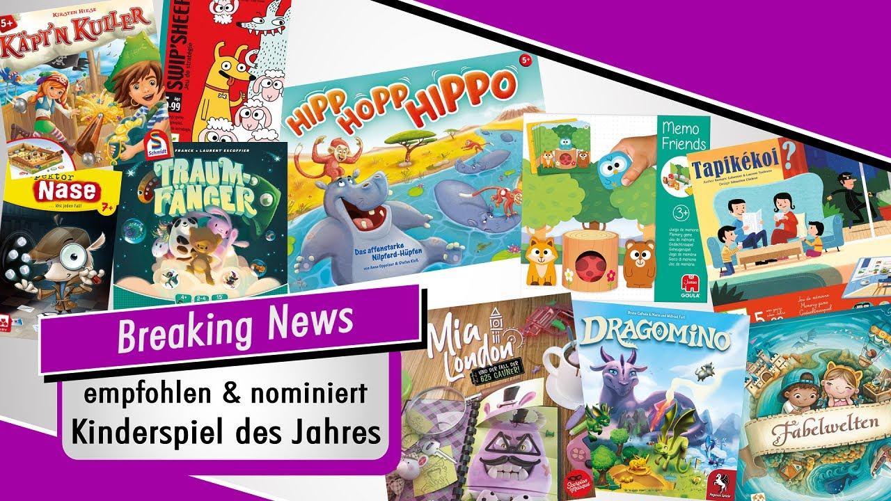 Vorbericht: Nominierte & empfohlene Titel zum Kinderspiel des Jahres 2021
