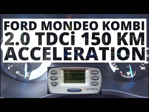 Ford Mondeo MK5 Kombi 2.0 TDCi 150 hp (MT)