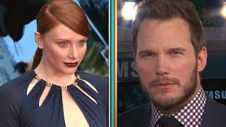 Chris Pratt Sings 'Margaritaville,' Bryce Dallas Howard Plays 'Jessica or Bryce?' at 'Jurassic Wo…