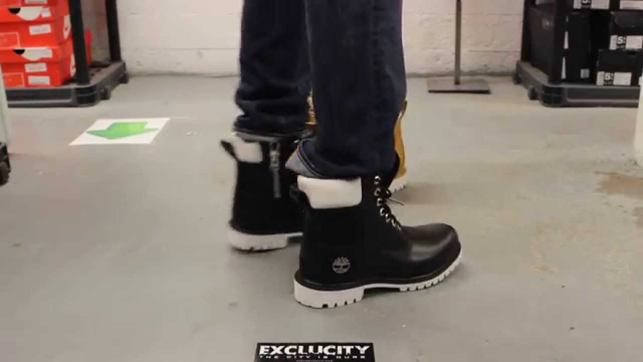 Timberland X Stüssy 6 inch Boots - Black - On-feet Video at Exclucity -  YouTube b830b8bf7dad