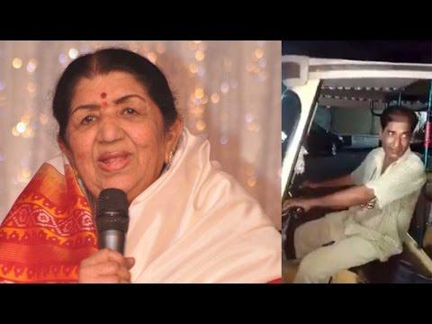 Lata Mangeshkar is fan of Pakistani auto driver's singing, shared video on FB