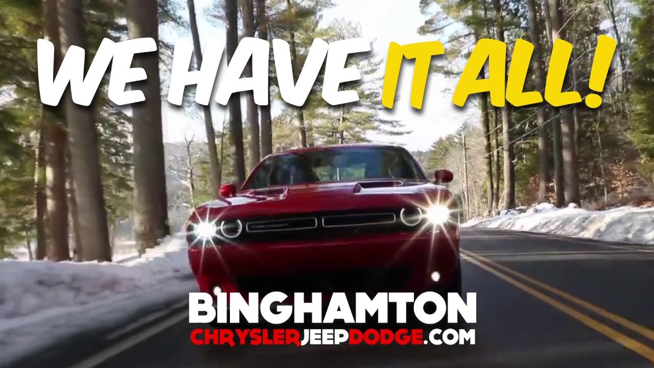 Binghamton Chrysler Jeep Dodge March 2017