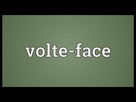 Header of volte-face