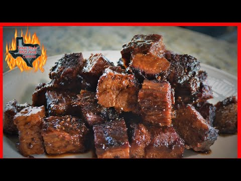 Barbecue Brisket Burnt Ends   Pairing Texas Wine And Barbecue