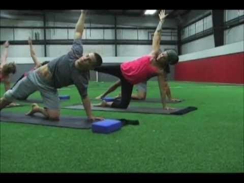 Yoga Stretch -  Power Yoga For Sports - Golf DVD