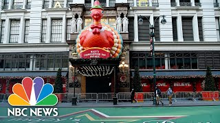 Mayor De Blasio Announces Macy's Annual Thanksgiving Parade As Television-Only Event | NBC News NOW