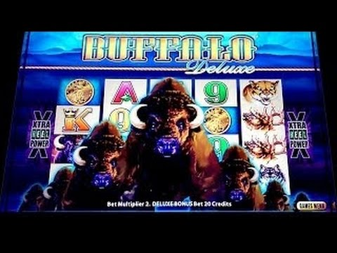 buffalo deluxe slot machine