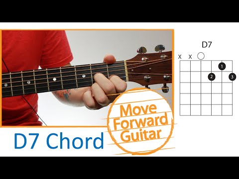 Guitar Chords for Beginners - D7