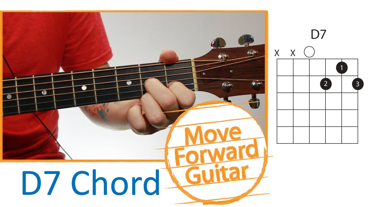 Guitar Chords For Beginners D7 Youtube