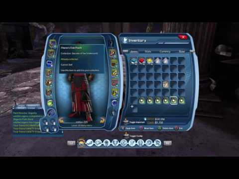 DCUO how to get cloak of heades colletion guide